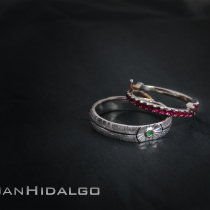 Alianza Star Wars Empire wedding Rings