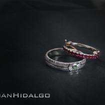 Alianza Star Wars Empire wedding Rings